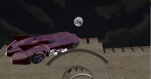 蝙蝠侠飞行漂移:城堡