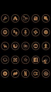 Brown On Black Icons By Arjun Arora - náhled
