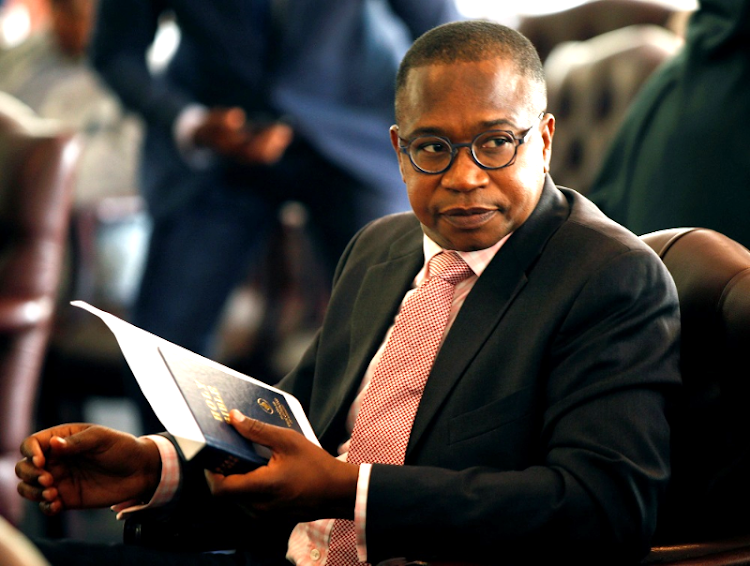Zimbabwe finance minister Mthuli Ncube. Picture: REUTERS