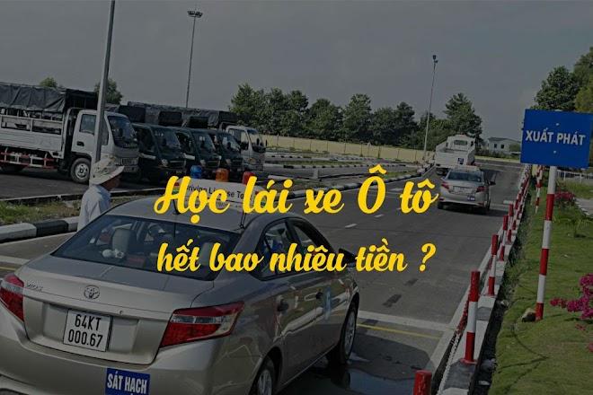 Học phí đào tạo lái xe hạng bằng B2 sẽ từ 15 – 20 triệu đồng.
