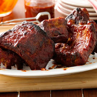 Slow-Cooker Barbecue Ribs.