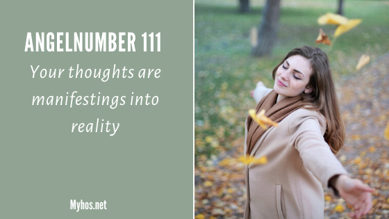 Angel number 111 meaning: your thoughts are manifesting