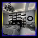 3d dormitorio diseñador icon