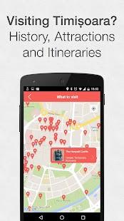 Timișoara City App - náhled