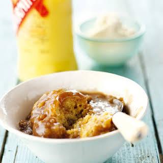 Holiday Hot Cake With Eggnog Cream.