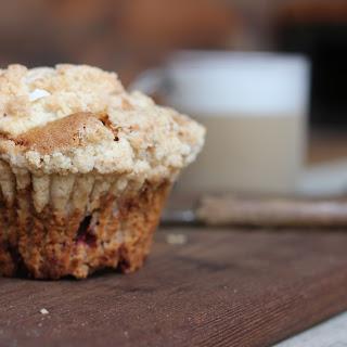 Oatmeal Raspberry Applesauce Muffins