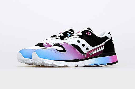 The Acribik x Saucony Azura Is Your Vaporwave Fix In a Shoe