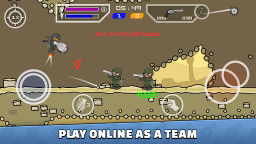 Télécharger Gratuit Mini Militia - Doodle Army 2 mod apk screenshots 2