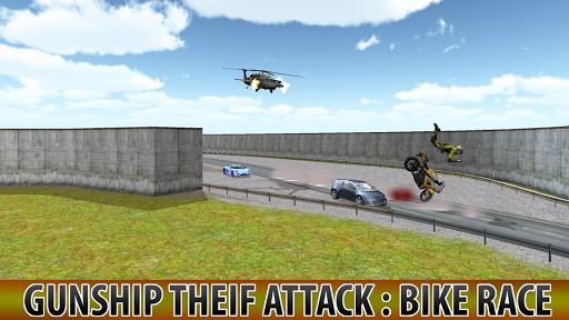 ガンシップ泥棒の攻撃:自転車レース|玩動作App免費|玩APPs