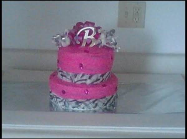 Sweet 16 Zebra Print Cake Recipe