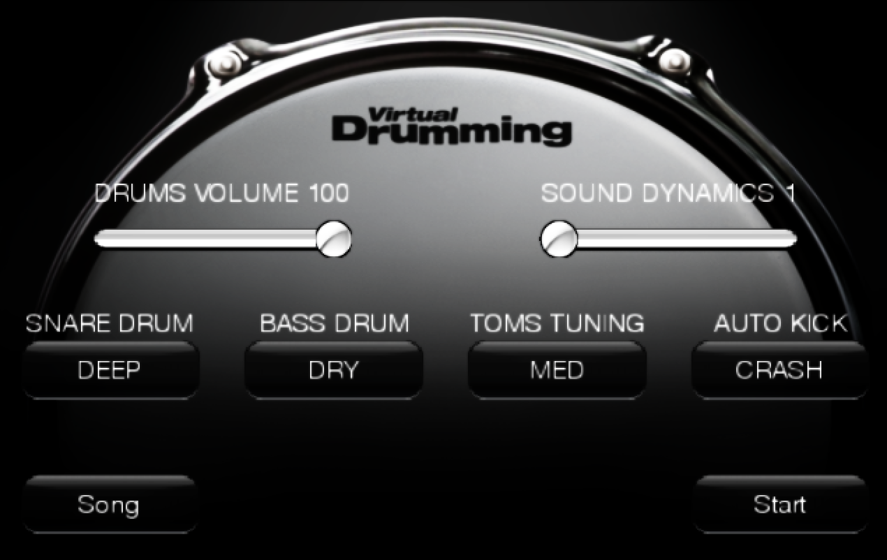 VirtualDrumming- screenshot