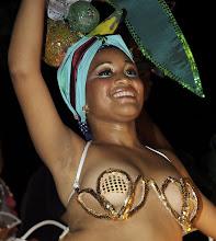 Photo: carnival dancer. santiago de cuba. Tracey Eaton photo.