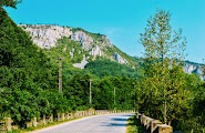 Дорога к Природному парку Марамуреш