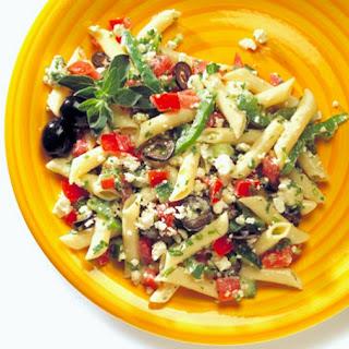 Mediterranean Pasta Salad with Fresh Herbs Recipe