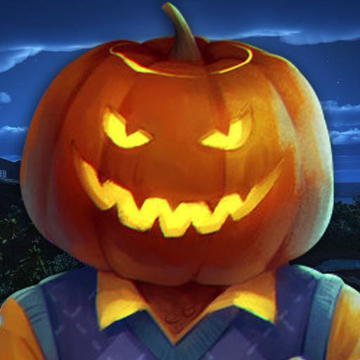 Scary Halloween Neighbor