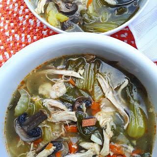 Spicy Rotisserie Chicken Soup (Flu Fighter).