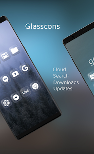 Glasscons – Icon pack v1.1.6 Patched 3