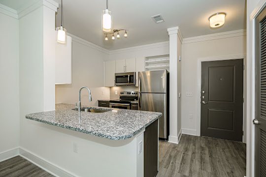 A1 Floorplan 1 Bed 1 Bath Satori Frisco Apartments In