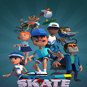 Skate Boy Runner - Endless Running Game