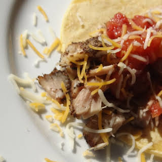 Pressure Cooker Coffee-Crusted Pork Tacos.