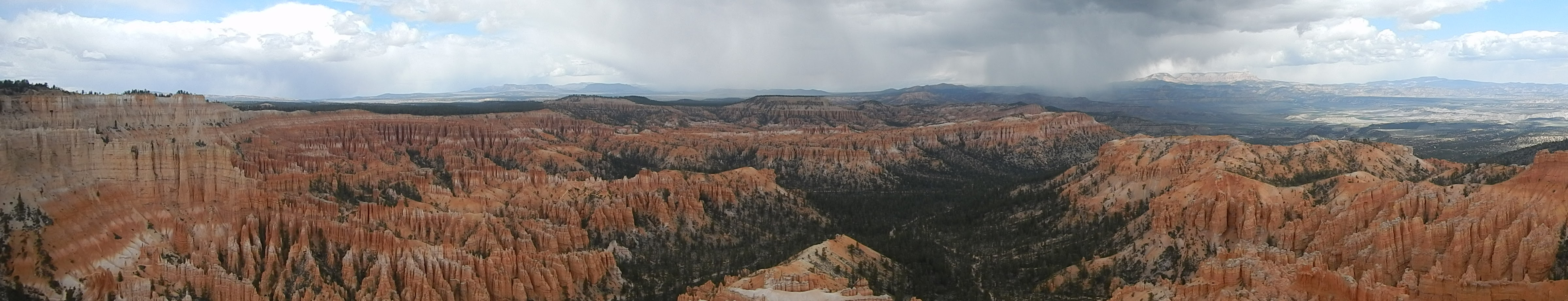 Photo: Panoramic view from Bryce Point