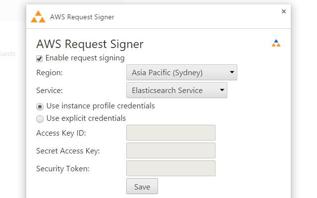 AWS Request Signer