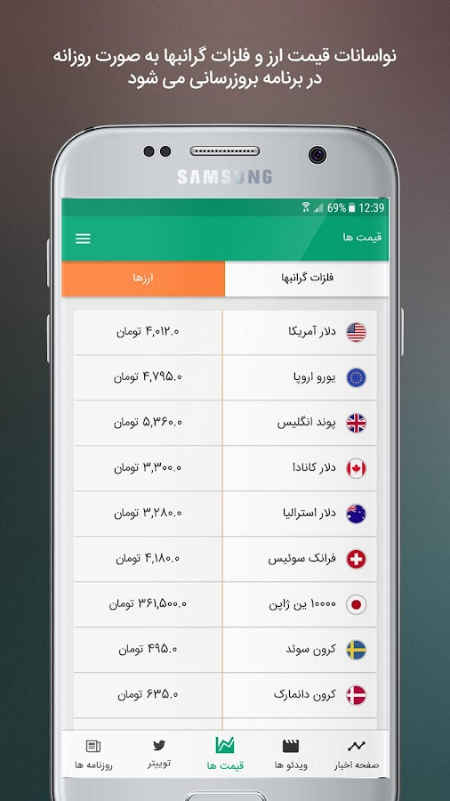 ‫روزامه خبر Roozame Khabar‬‎- screenshot