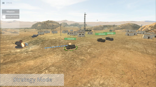 Panzer War 2019.2.7.5 Vista APK MOD screenshots 2