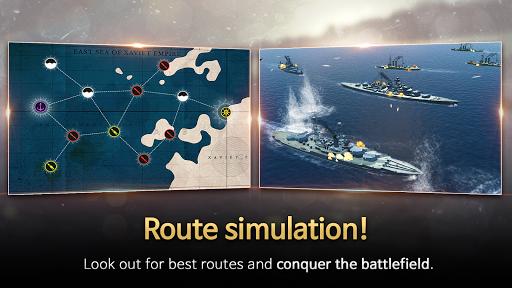 Code Triche Warship Fleet Command : WW2 Naval War Game mod apk screenshots 5