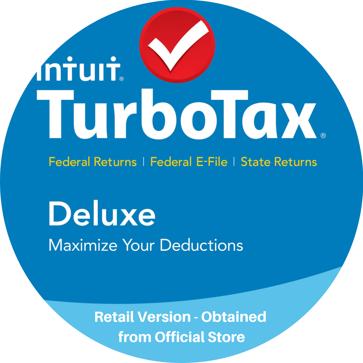Intuit TurboTax Deluxe 2018 Returns State Federal E-File