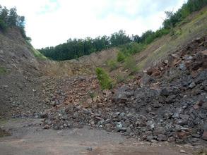 Photo: Lom ze 3. etáže (stav 14.7. 2012)