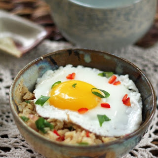 Burmese-Inspired Eggs with Rice
