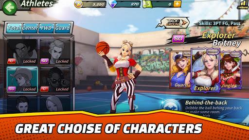 Télécharger Basketball Crew 2k19 - streetball bounce madness!  APK MOD (Astuce) screenshots 5