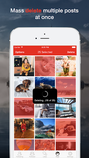 Instant Cleaner- for Instagram 2.1.0 screenshots 5