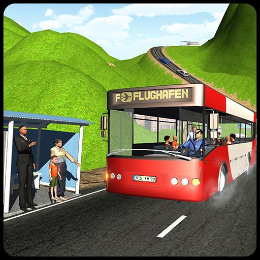 Coach Bus Hill Climb Driver 3D