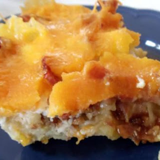 Egg, Potato and Cheese Casserole.