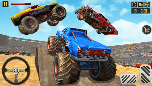 Screenshot for Monster Truck Derby Crash Stunts in United States Play Store