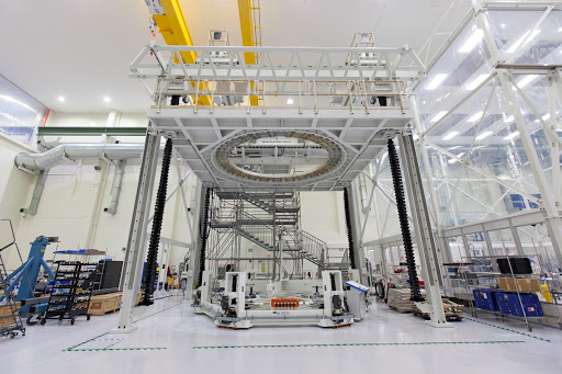 Orion Space Hardware In-Production inside the Operations and Che