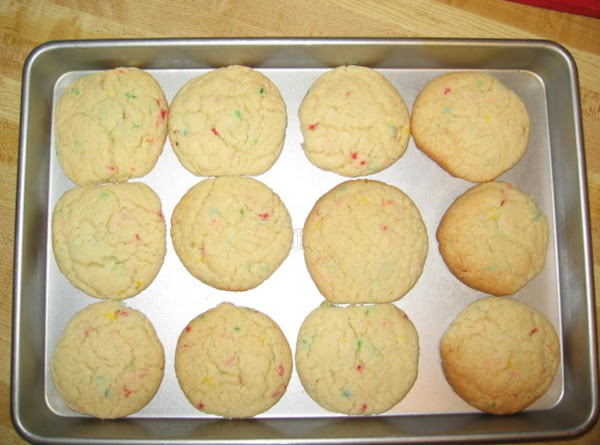 Fun Fetti Cake Cookies Recipe