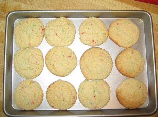 Fun Fetti Cake Cookies Recipe