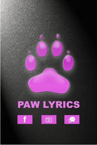 Lily Allen - Paw Lyrics