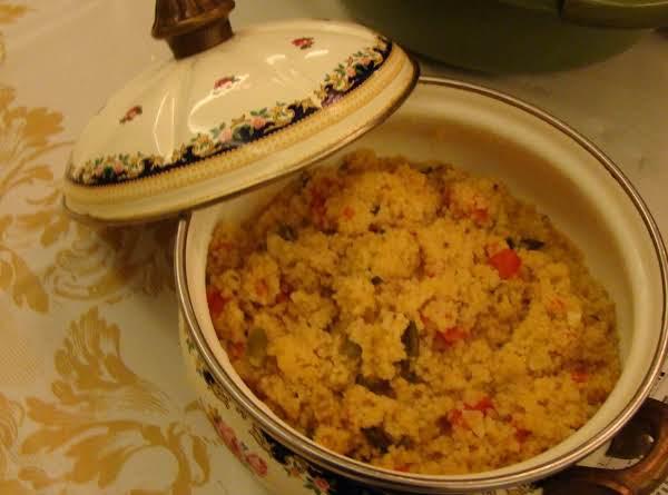 Tomato Parmesan Couscous Recipe