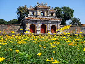 Photo: VIETNAM Hué - la citadelle (Sony)