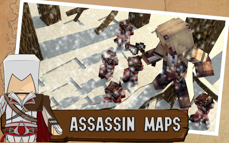 android Pack Assassin for Minecraft PE Screenshot 0
