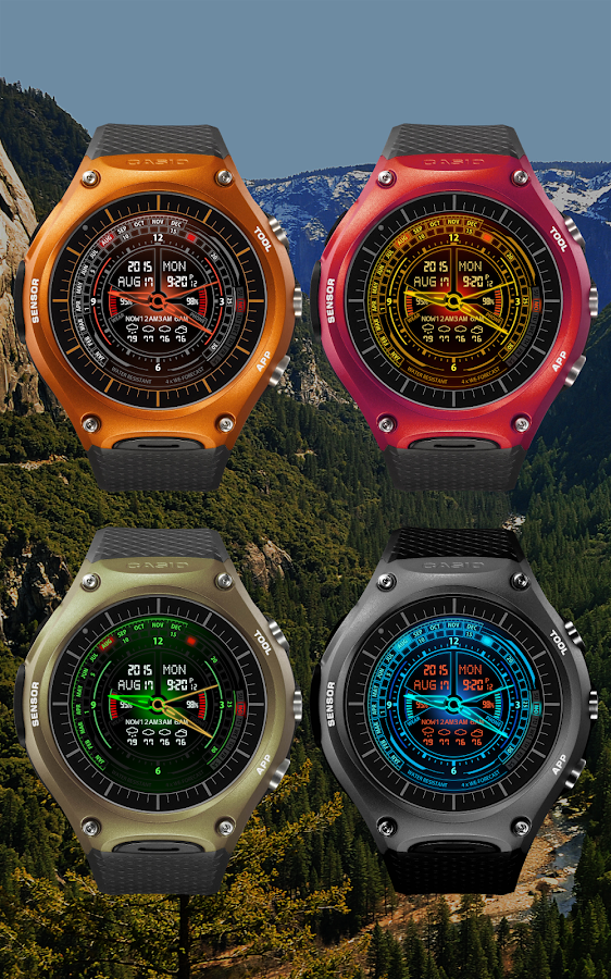 V20 WatchFace For Android Wear- screenshot