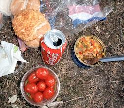 """Photo: Heute gibt es Thunfischsalat """"American"""", war lecker"""