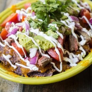 Loaded Carne Asada Chips