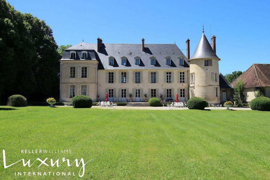 Vente château 20 pièces 900 m² à Gy-les-Nonains (45220), 2 800 000 €