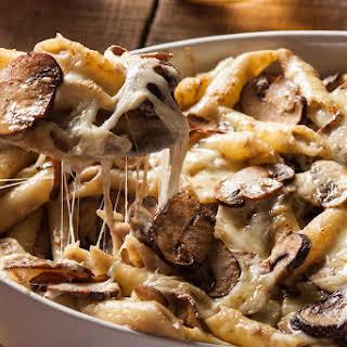 Mushroom Pasta Bake Vegetarian Recipes.