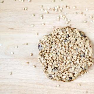 Buckwheat, Peanut Butter & Chocolate Cookie for One (Vegan, GF, Paleo, Oil-Free)
